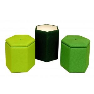 Small Hexagonal stool
