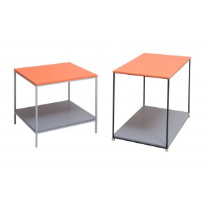 Cove Metal Side Table