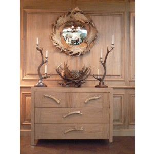 Borders Oak Chest Of Drawers