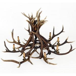 Chandelier - 8 Arm Red Deer
