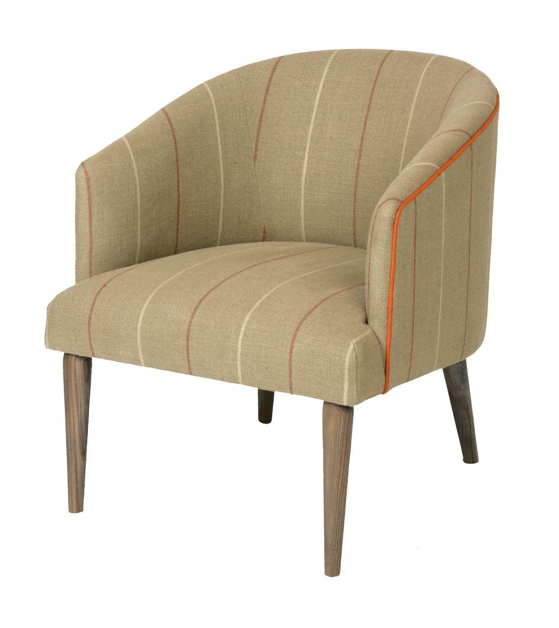 Tub Chair- turned leg