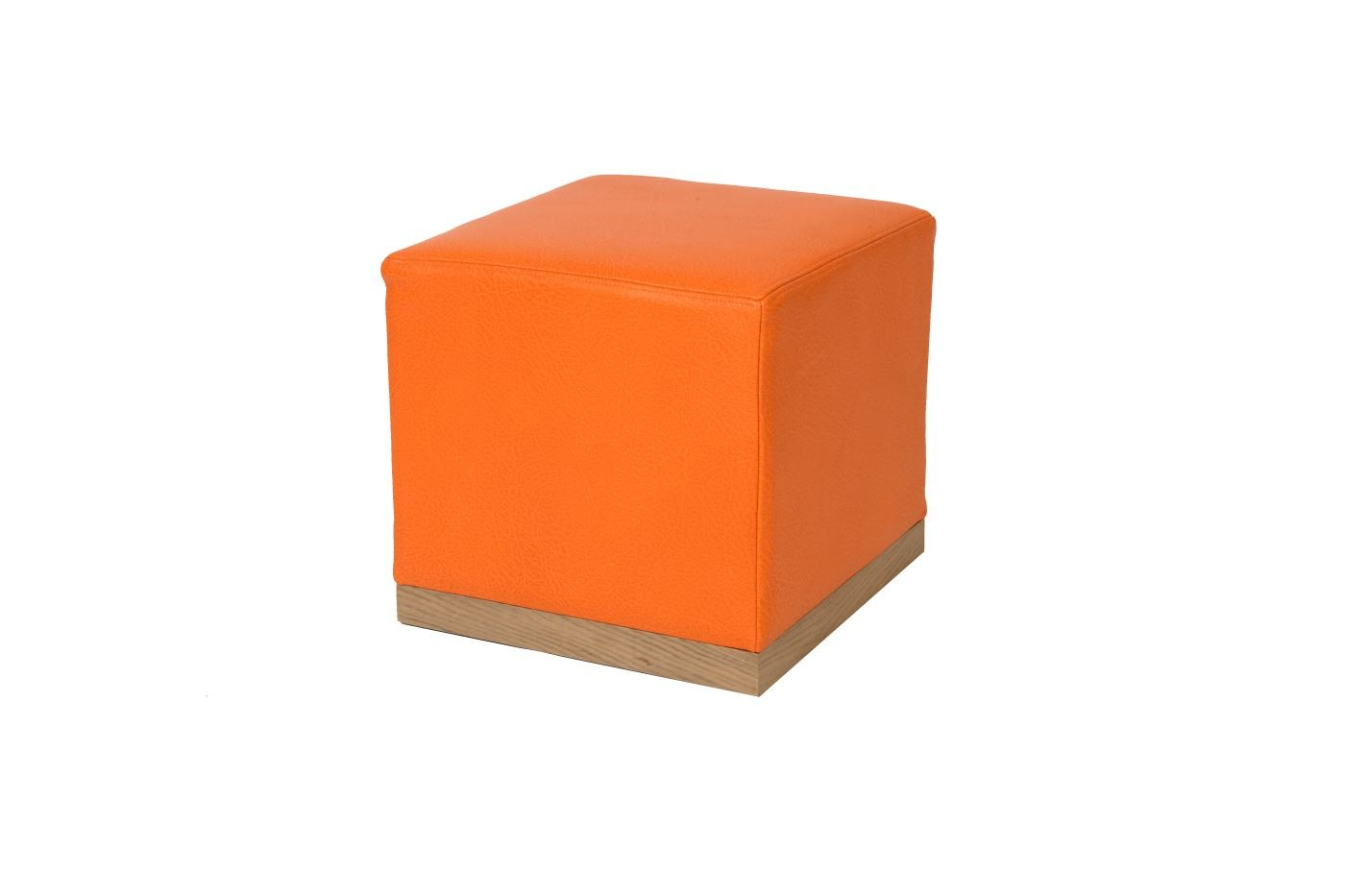 Cube with plinth