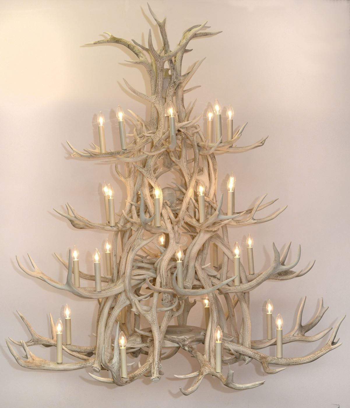 Chandelier - 4-tier painted