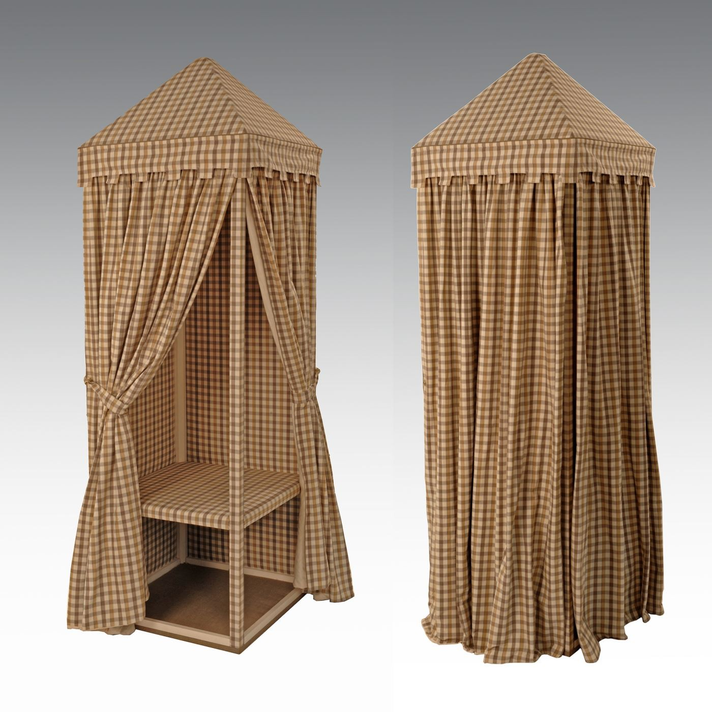 Tented Cupboard - Curtains