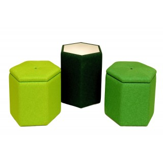 Small Hexagonal stool
