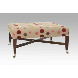 Hailes stool with cross stretcher - SALE PRICE