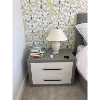 High Gloss Bedside Cabinet