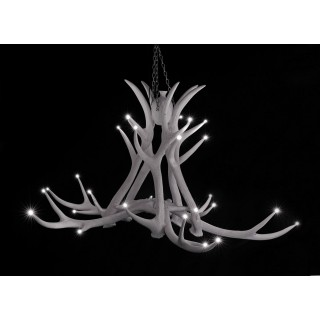 Chandelier - 5-arm Resin LED