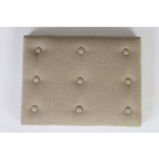 Upholstery option-shallow button