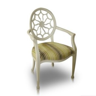 1 x Pair Spider back arm chairs -SALE PRICE