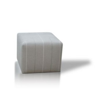 Cube with Scottish Linen - SALE PRICE