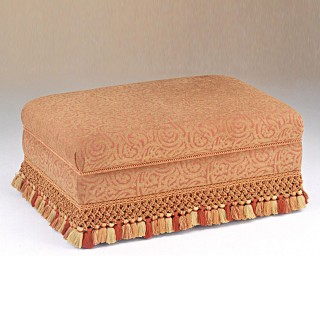 Rectangular Pouffe