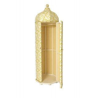 Tented Octagonal Cupboard